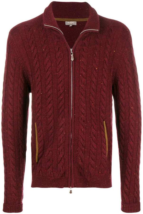 N.Peal The Richmond cable cardigan