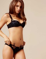 Agent Provocateur Eviee Brief Black and Navy