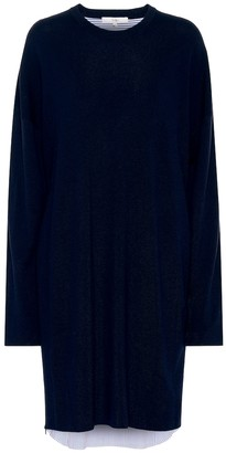 Tibi Wool and cotton dress