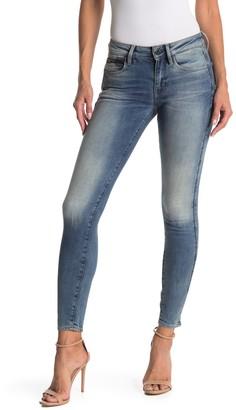G Star 3301 Studs Mid Skinny Jeans