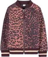 Molo Printed bomber jacket Hally