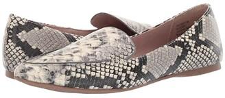 Steve Madden Feather Loafer Flat (Snake) Women's Dress Flat Shoes