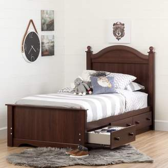 South Shore Savannah 3-Drawer Storage Bed, Twin, Multiple Finishes