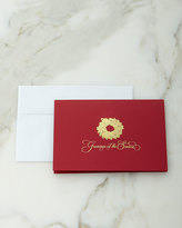 Carlson Craft Simple Wreath Cards/Envelopes, Set of 25