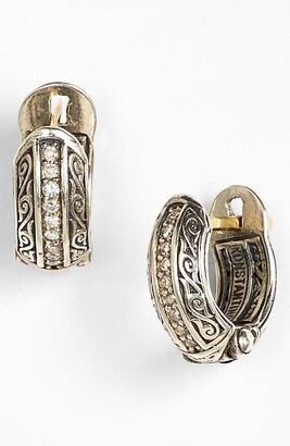 Konstantino 'Hermione' Diamond Small Huggie Hoop Earrings