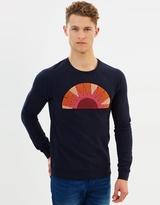 Scotch & Soda Toweling Artwork Sweater