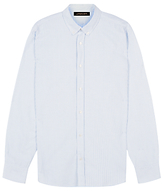 Jaeger Oxford Stripe Shirt, Blue