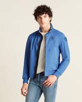 Blauer Short Lightweight Hidden Hood Jacket