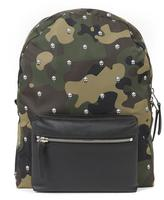 Alexander Mcqueen Camouflage Skull Printed Backpack