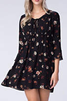 Honeybelle honey belle Black Floral Dress