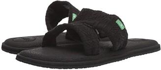 Sanuk Yoga Mat Capri (Black 2) Women's Sandals