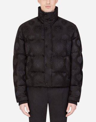 Dolce & Gabbana Quilted Jacquard Jacket