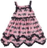 Kickee Pants Raccoon Dress & Bloomer-Infant