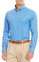 Daniel Cremieux Twill Check Long-Sleeve Woven Shirt