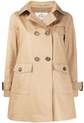 Herno Patch-Pocket Trench Coat