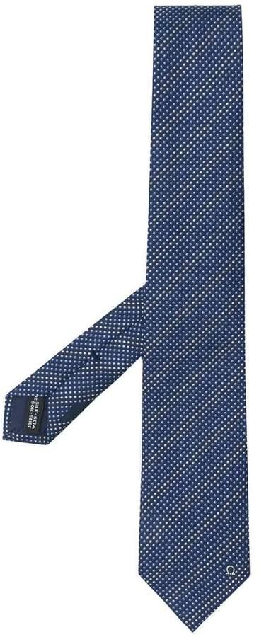 Salvatore Ferragamo polka dot print tie