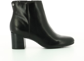 Hush Puppies Heeled Leather Boots