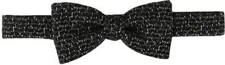 Cerruti stitching detail bow tie