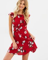 Miss Selfridge Sheered Bardot Millie Dress