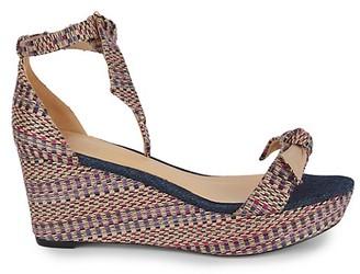 Alexandre Birman Clarita Multicolor Platform Wedge Sandals