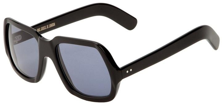 Cutler & Gross Large square framed sunglasses