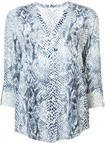 Joie snakeskin print shirt - women - Rayon - M