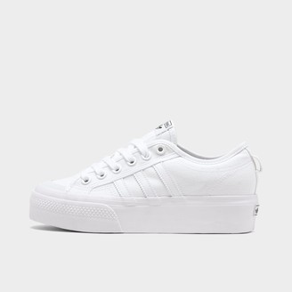 adidas Women's Nizza Platform Casual Shoes