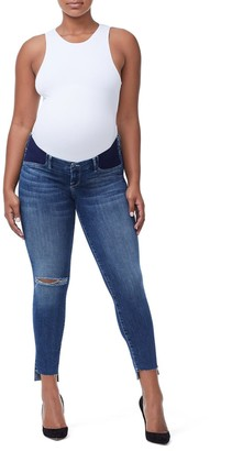 Ga Sale The Honeymoon Low Rise Maternity Jeans - BLUE226