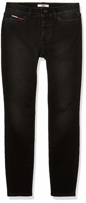 Tommy Hilfiger Women's Adaptive Jegging Knit Jean Legging with Velcro and Magnetic Closure
