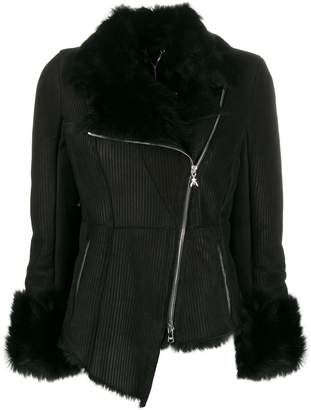 Patrizia Pepe asymmetric fitted jacket