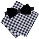 Lord & Taylor BOYS 8-20 Adal Velvet Bow and Pocket Square Set