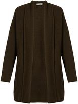 Vince Shawl-collar wool-blend cardigan