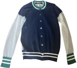 Junya Watanabe Blue Cashmere Knitwear