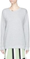 Valentino Lock and key pendant necklace sweatshirt