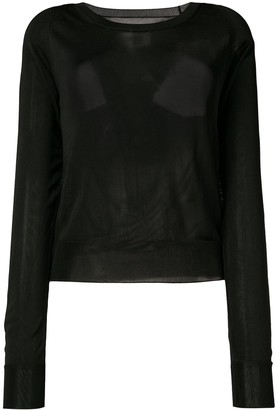 MM6 MAISON MARGIELA Cutout Back Sweater