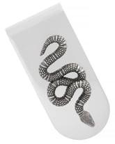 Gucci Snake Insignia Money Clip