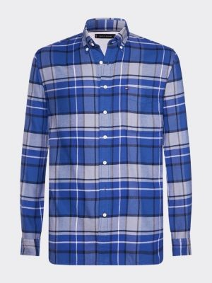 Tommy Hilfiger Regular Fit Tartan Plaid Checked Shirt