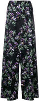 Blumarine floral print wide-leg trousers