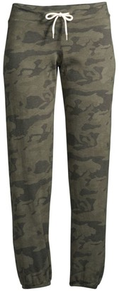 Monrow Camo Fleece Sweatpants