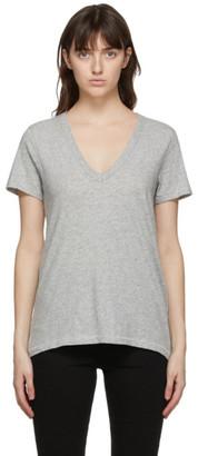 Rag & Bone Grey The Slub V-Neck T-Shirt