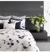 Vera Wang Ink Wash Floral Duvet Cover