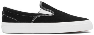 Converse Black Suede One Star Slip-On Sneakers