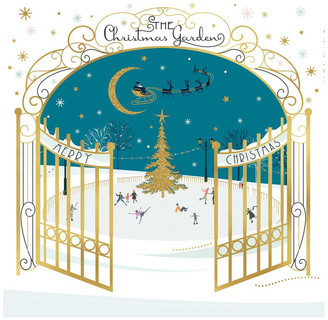 Simson Beyond Blue Charity Christmas Boxed Cards, Ice Skating - 10