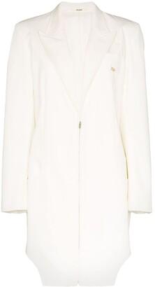 Zilver Weekend Zip-Up Coat