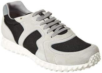 Valentino Soul Am Suede & Mesh Sneaker
