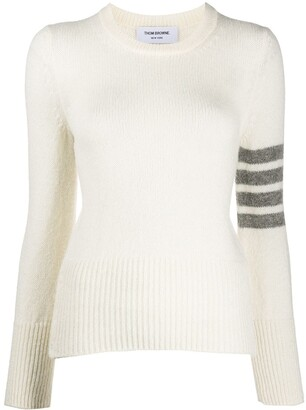 Thom Browne 4-Bar knitted jumper
