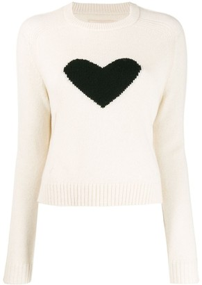Zadig & Voltaire Lili knitted heart pullover