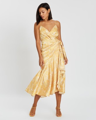 Acler Dana Wrap Dress
