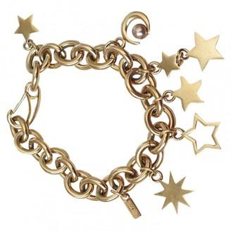 Moschino Gold Metal Bracelets