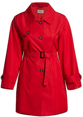 Cinzia Rocca, Plus Size Wrap Trench Coat
